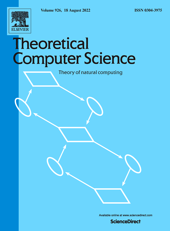 Theoretical Computer Science | Journal | ScienceDirect com