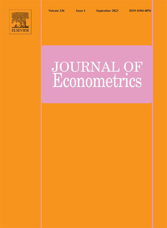 Journal of Econometrics | ScienceDirect com