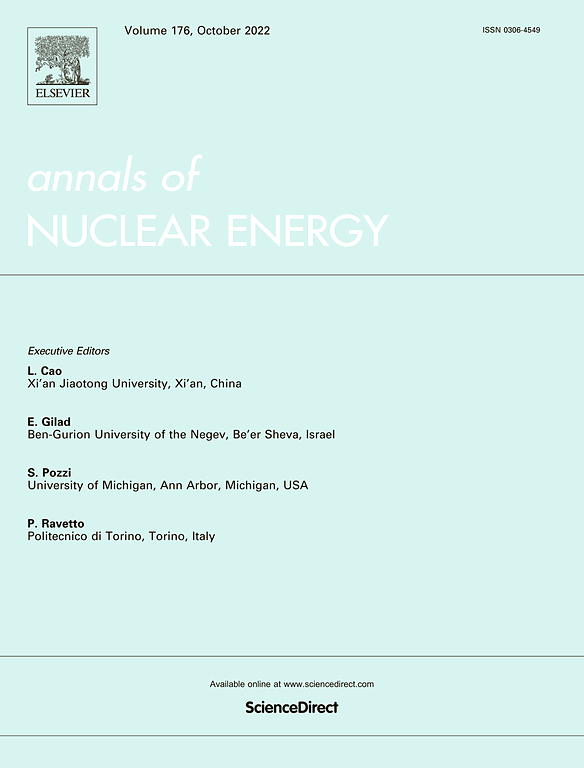 Annals Of Nuclear Energy Journal Elsevier