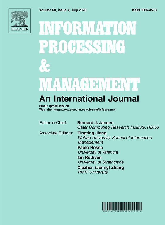 Information Processing Management Journal Elsevier