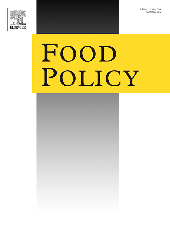 Food Policy Journal Elsevier