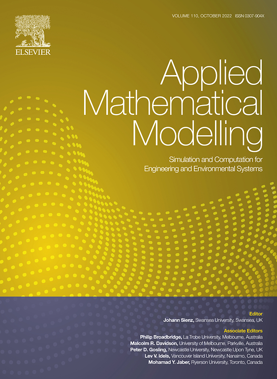 Applied Mathematical Modelling Journal Elsevier