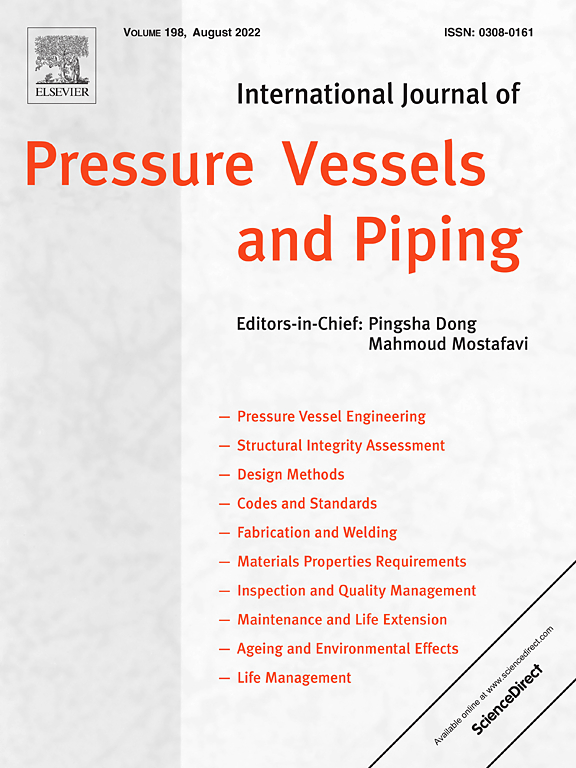 International Journal Of Pressure Vessels And Piping Elsevier