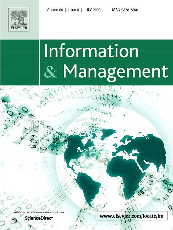 Information And Management Journal Elsevier