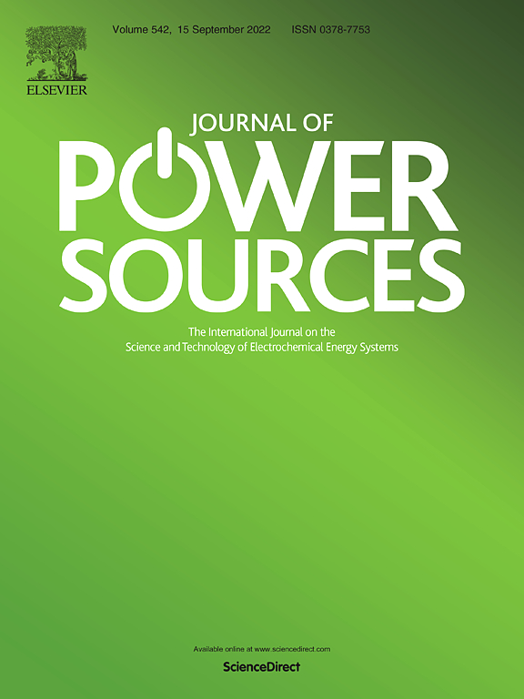 Cover image Journal of Power Sources