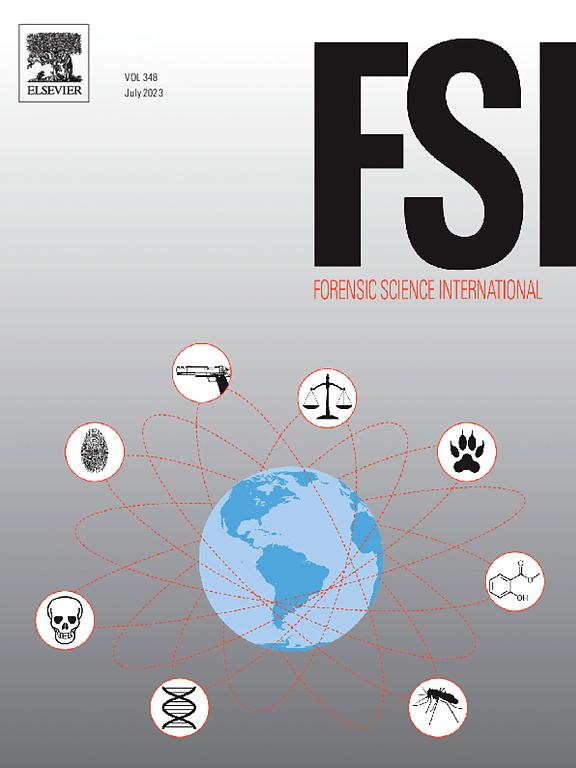 Forensic Science International Journal Elsevier
