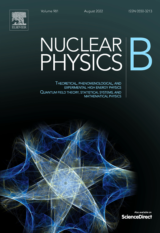 Nuclear Physics B Journal