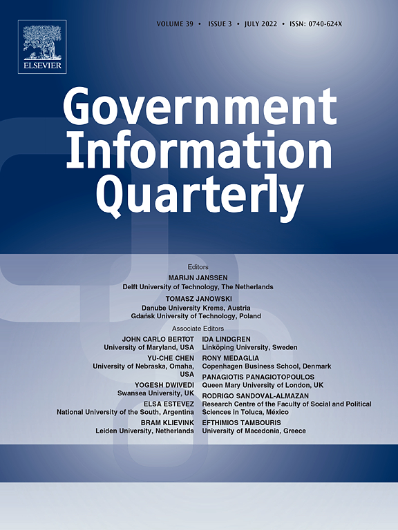 """Journal Article: """"Searching FOIA Libraries For Government Information"""""""