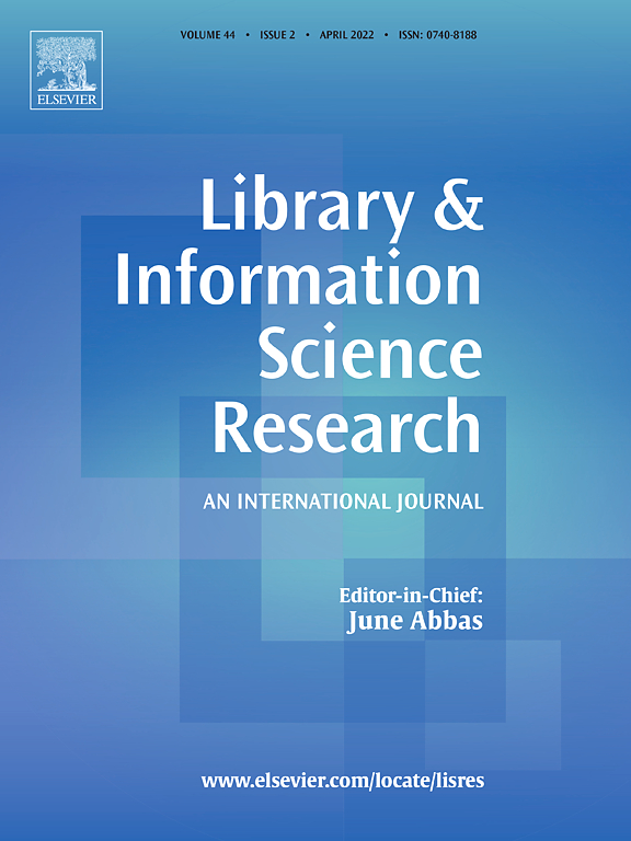 Library & Information Science Research | Journal