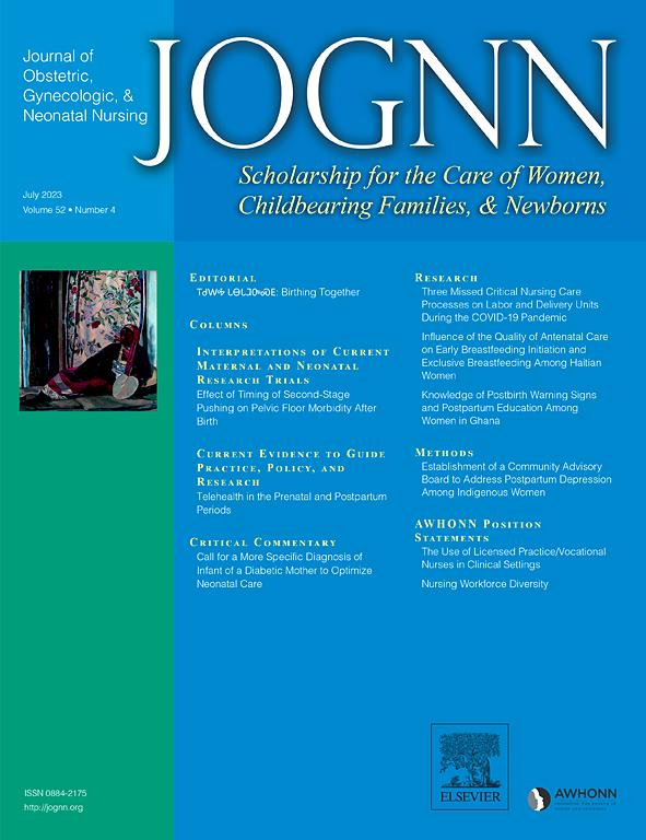 Journal of Obstetric, Gynecologic & Neonatal Nursing