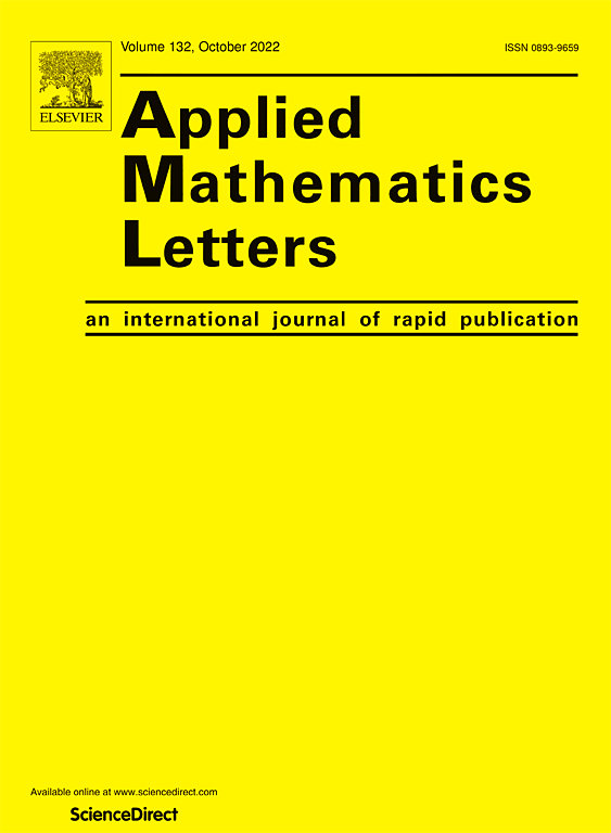 Applied Mathematics Letters | Journal | ScienceDirect com