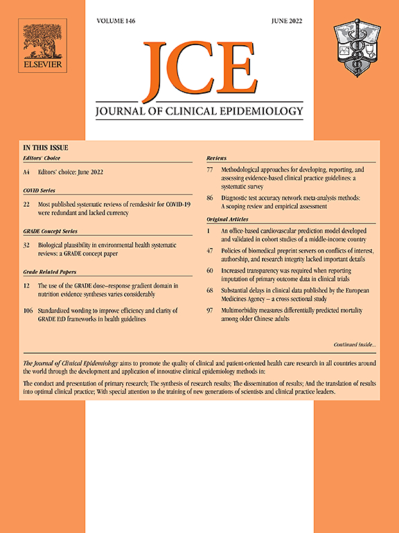 Journal of Clinical Epidemiology   ScienceDirect.com