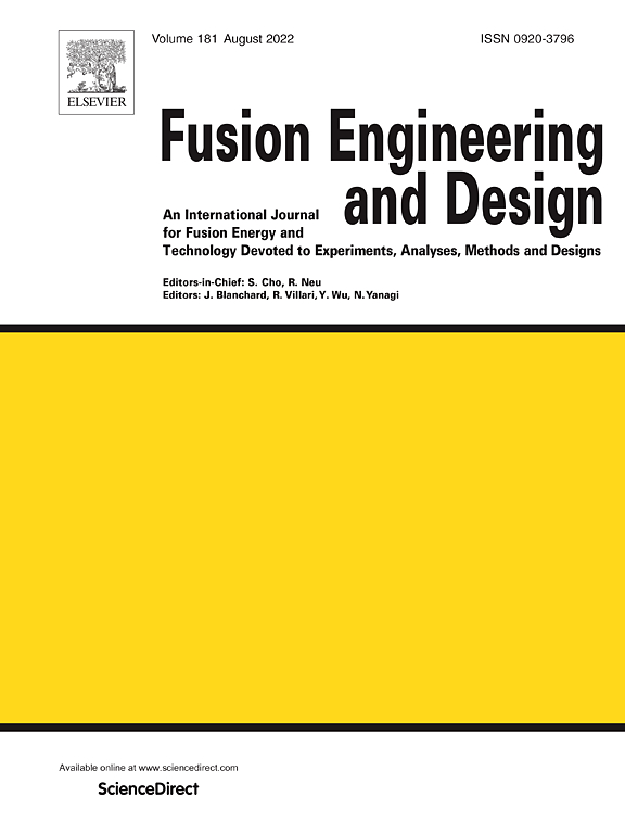 Fusion Engineering And Design Journal Elsevier