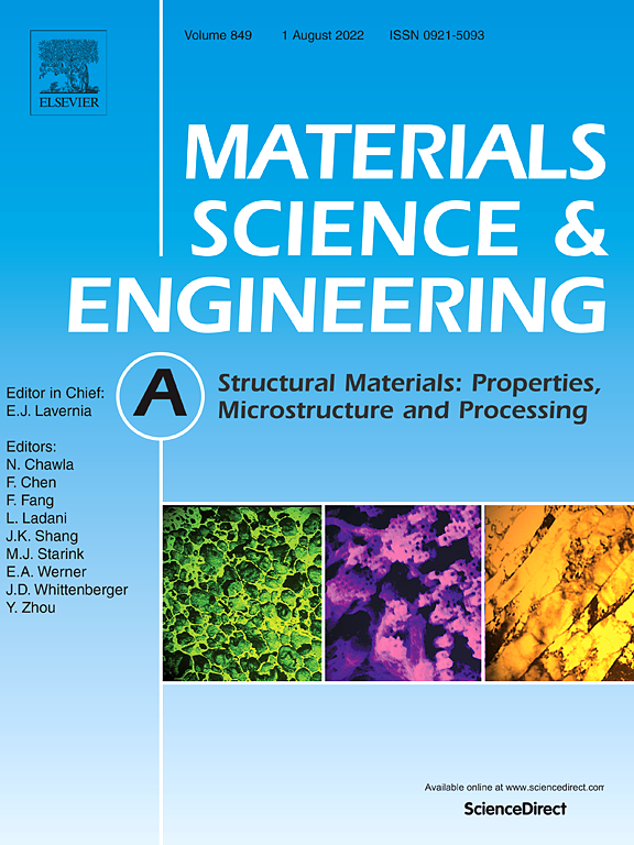 Materials Science and Engineering: A | Journal