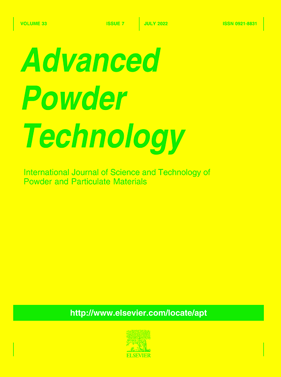 Cover image Advanced Powder Technology