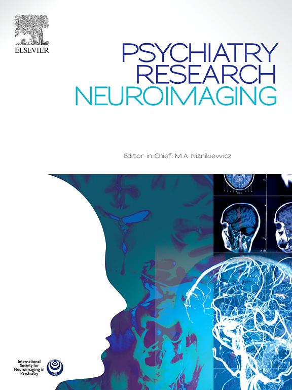 psychiatry research neuroimaging sciencedirect com