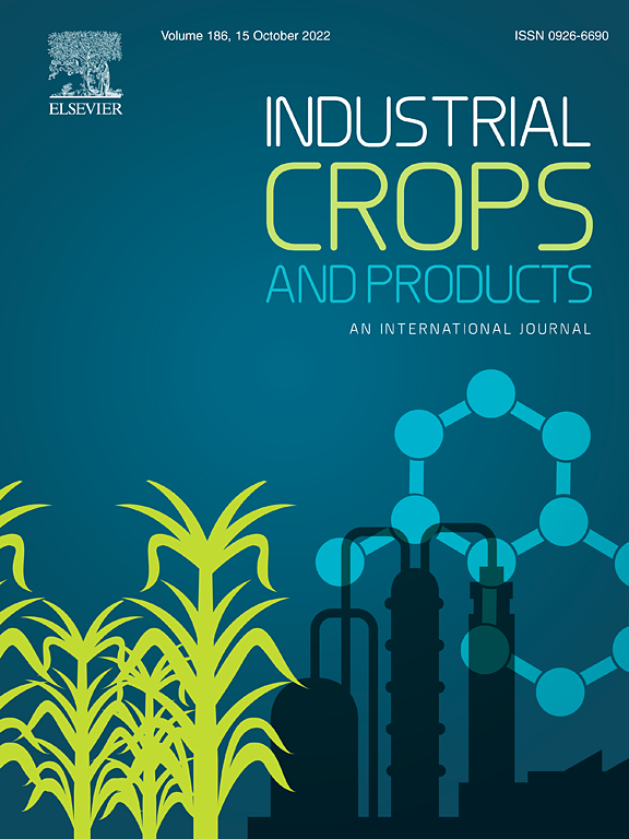 Industrial Crops And Products Journal Elsevier