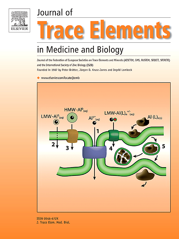 Journal of Trace Elements in Medicine and Biology   ScienceDirect.com