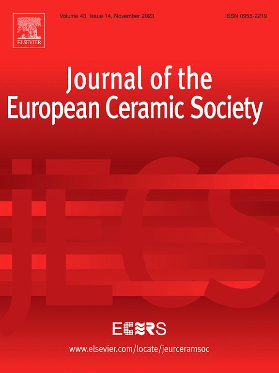 Journal Of The European Ceramic Society Elsevier