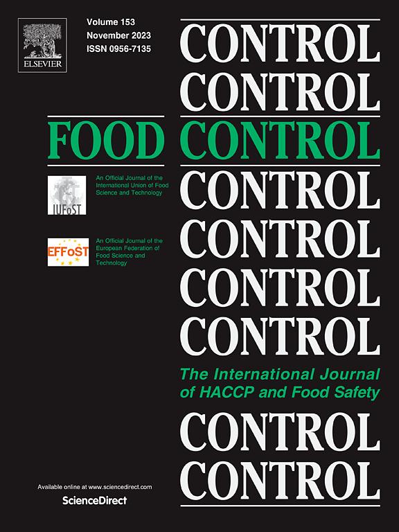 Food Control Journal Elsevier