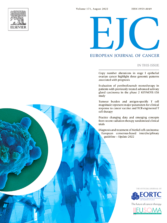 European Journal of Cancer | ScienceDirect com