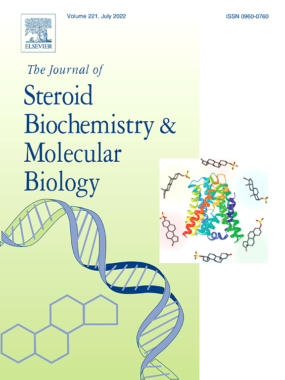 the journal of steroid biochemistry and molecular biology  cover image the journal of steroid biochemistry and molecular biology
