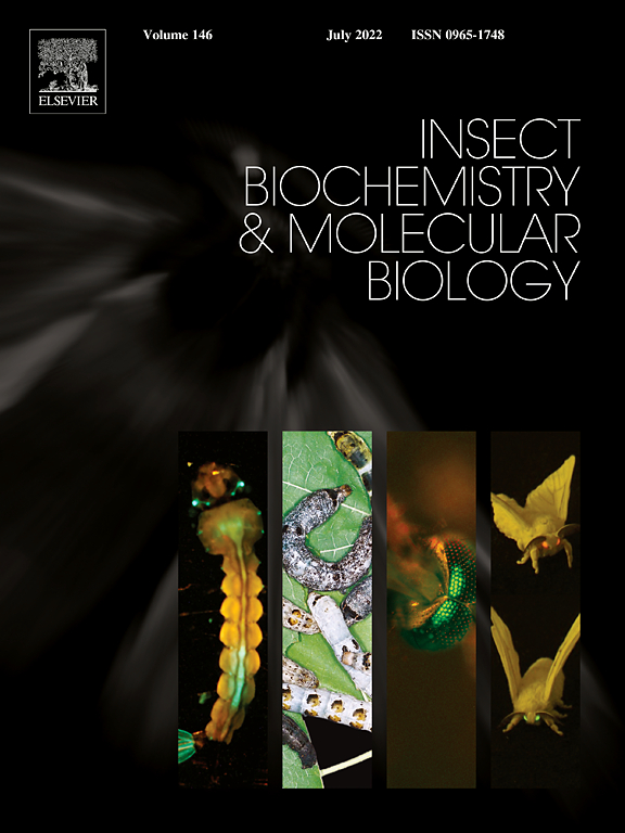 insect biochemistry and molecular biology com cover image insect biochemistry and molecular biology