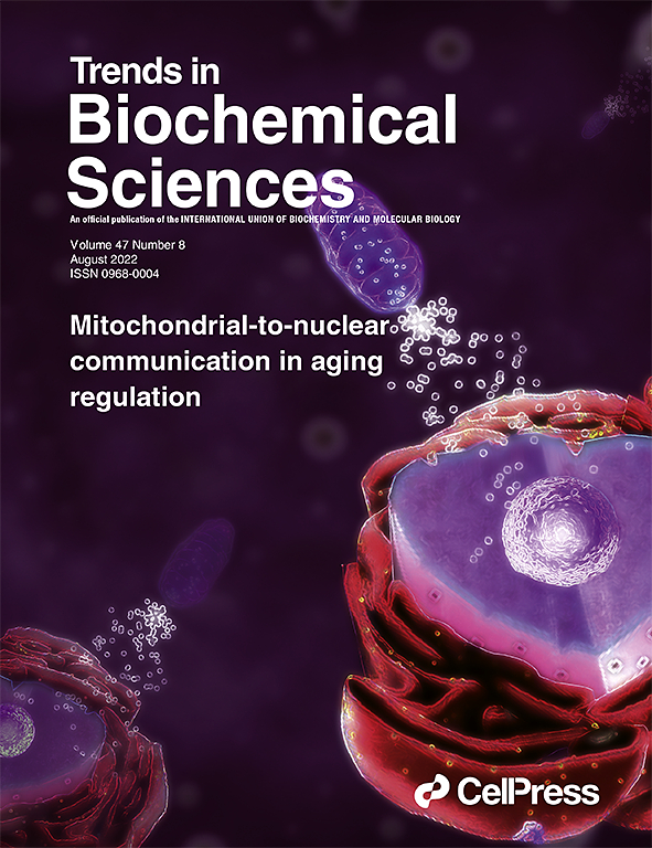 trends in biochemical sciences com cover image trends in biochemical sciences