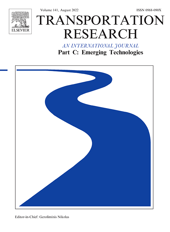 Transportation Research Part C Emerging Technologies Journal Elsevier