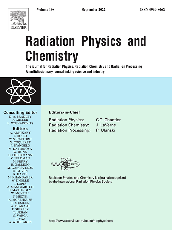Radiation Physics and Chemistry   Journal   ScienceDirect com