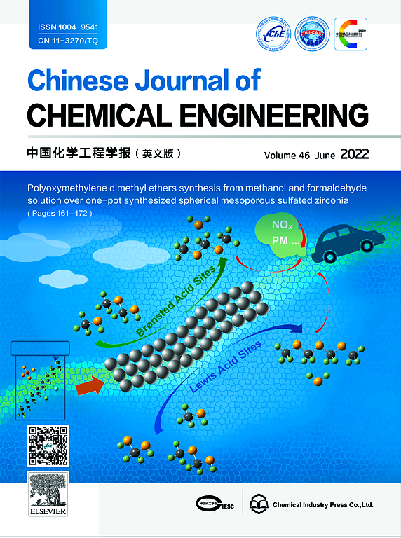 Chinese Journal Of Chemical Engineering Elsevier