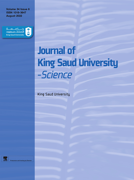 Journal Of King Saud University Science Elsevier