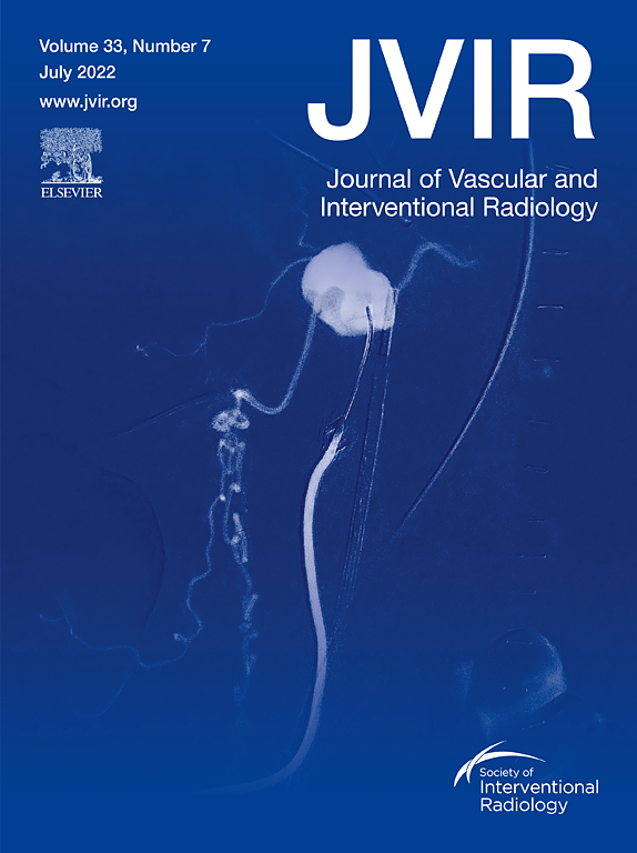 Image result for journal of vascular and interventional radiology