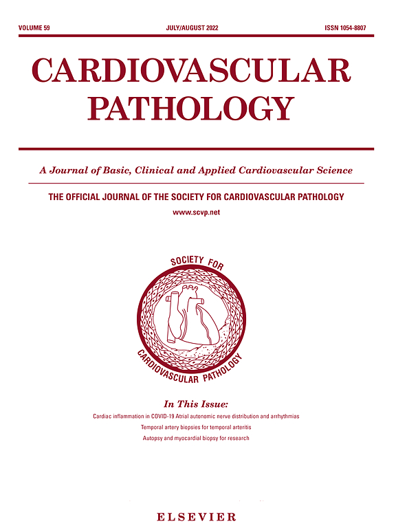 Cardiovascular Pathology | Journal | ScienceDirect com