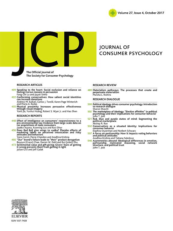 Картинки по запросу Journal of Consumer Psychology