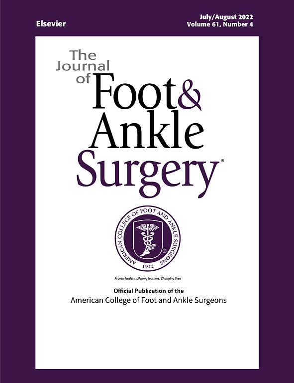 The Journal of Foot and Ankle Surgery | ScienceDirect com