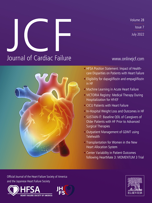 Journal of Cardiac Failure | ScienceDirect com