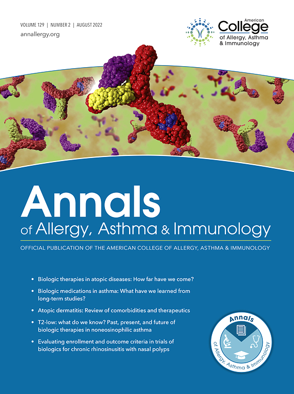 Annals of Allergy, Asthma & Immunology | Journal
