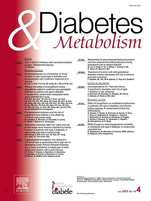 DIABETES & METABOLISM