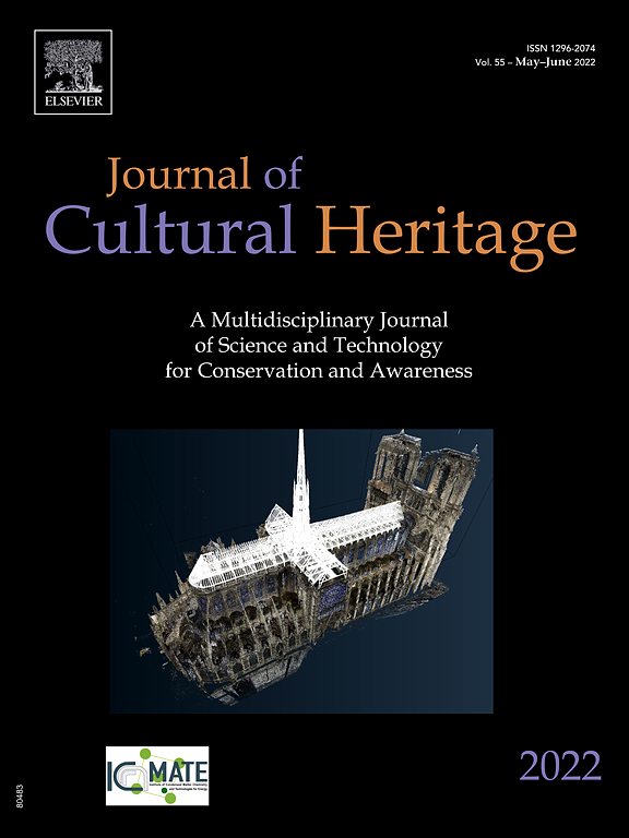 new product 69d4b 36512 Cover image Journal of Cultural Heritage