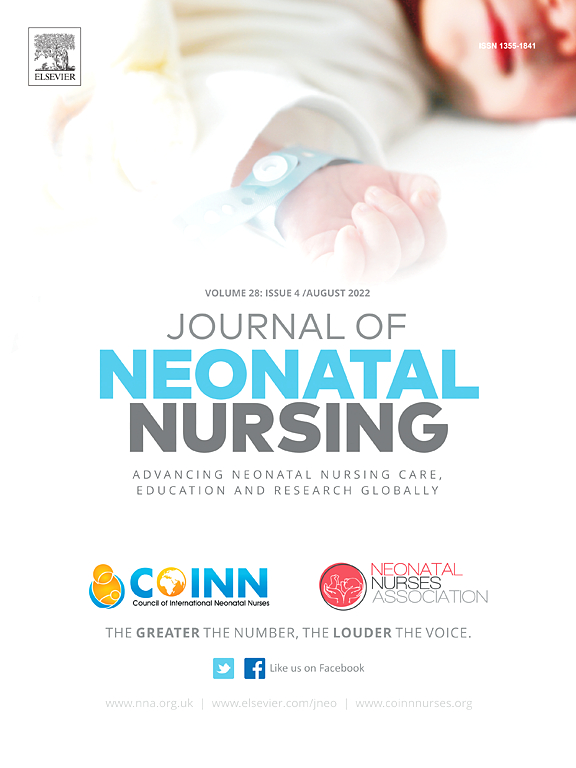 Journal of Neonatal Nursing | ScienceDirect.com