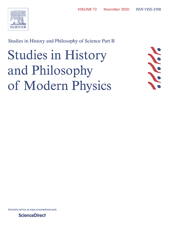 studies in history and philosophy of science part b studies in