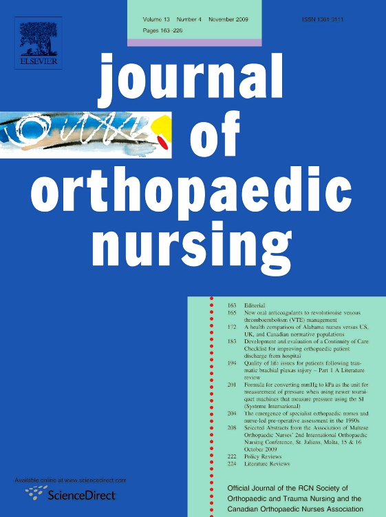 ORTHOPAEDIC NURSING EPUB DOWNLOAD