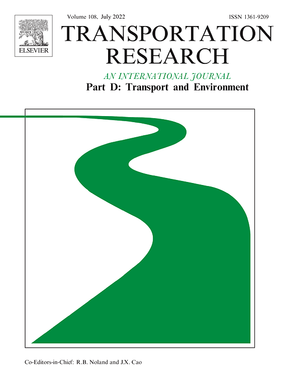 Transportation Research Part D: Transport and Environment