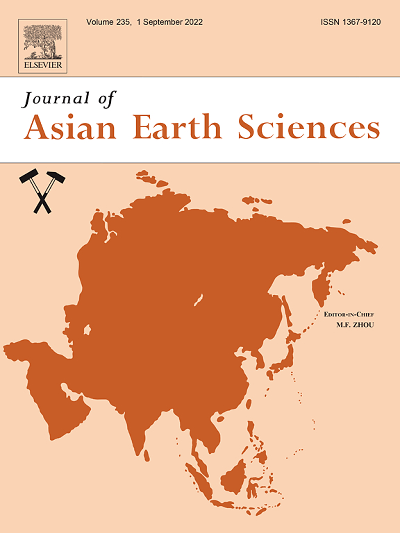 Journal of Asian Earth Sciences | ScienceDirect com