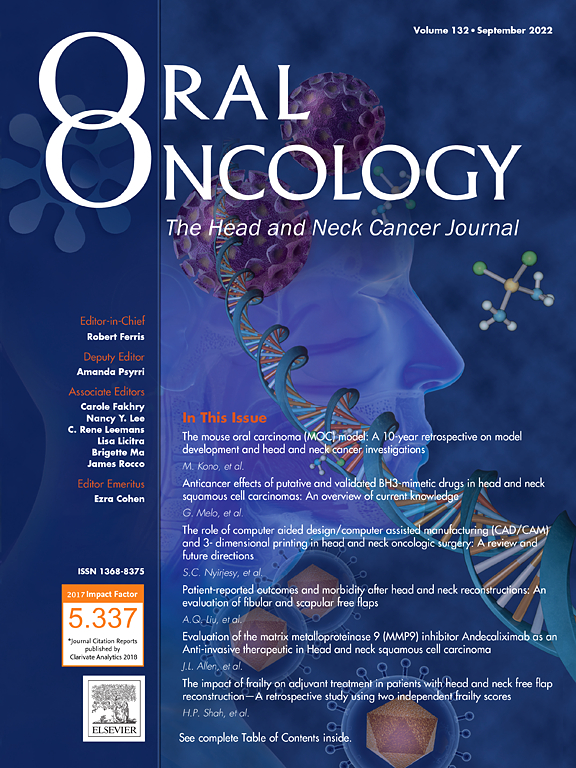 Oral Oncology Journal Sciencedirect Com
