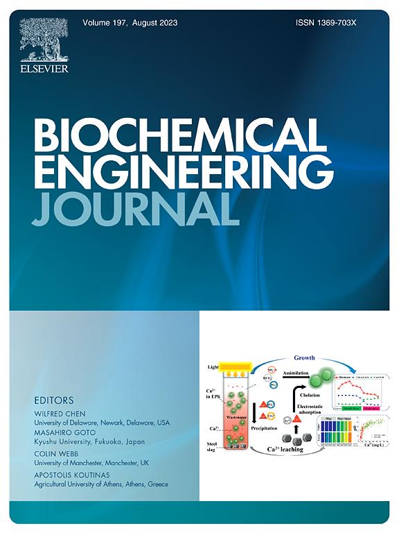 Biochemical Engineering Journal Elsevier