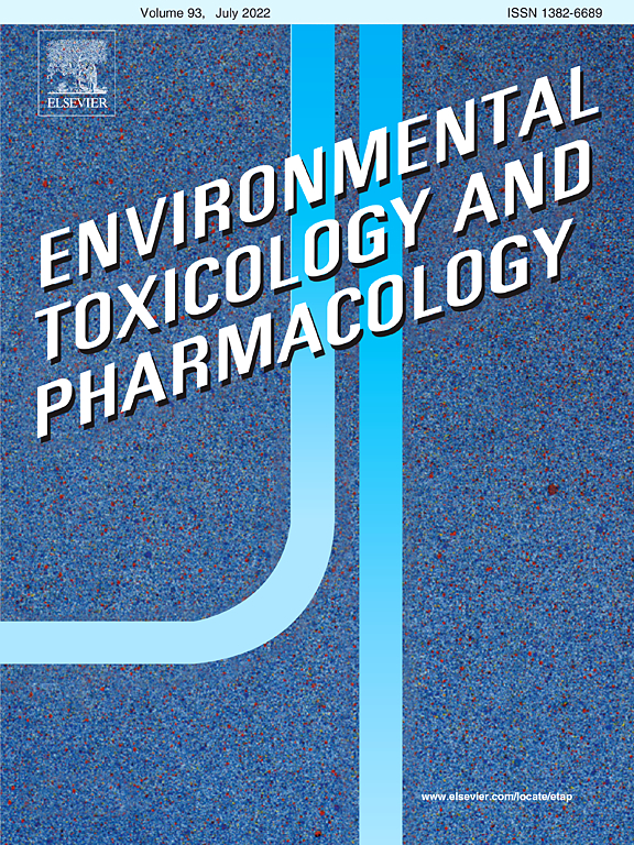 Environmental Toxicology and Pharmacology | Journal