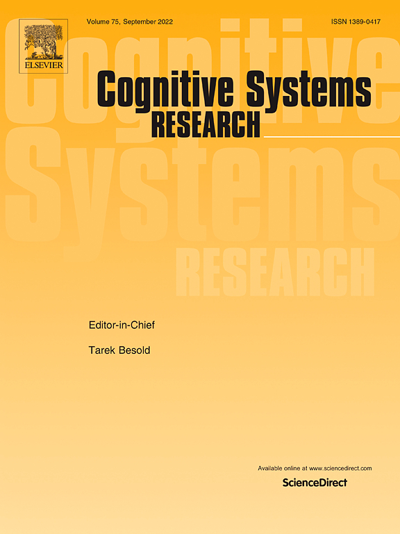 Cognitive Systems Research | Journal | ScienceDirect com