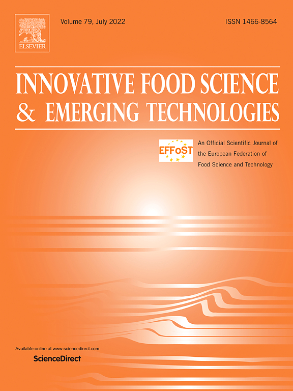 Innovative Food Science And Emerging Technologies Journal Elsevier